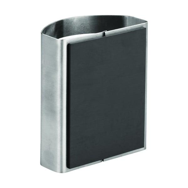Metalowy magnetyczny uchwyt na ołówki iDesign Forma, 5,5x10 cm