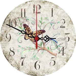 Nástěnné hodiny Stamp, 30 cm