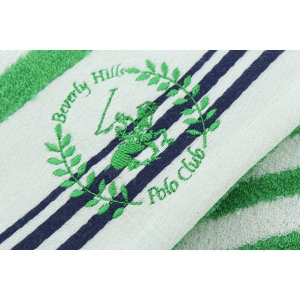 Bavlněná osuška BHPC White 80x150 cm, zelená