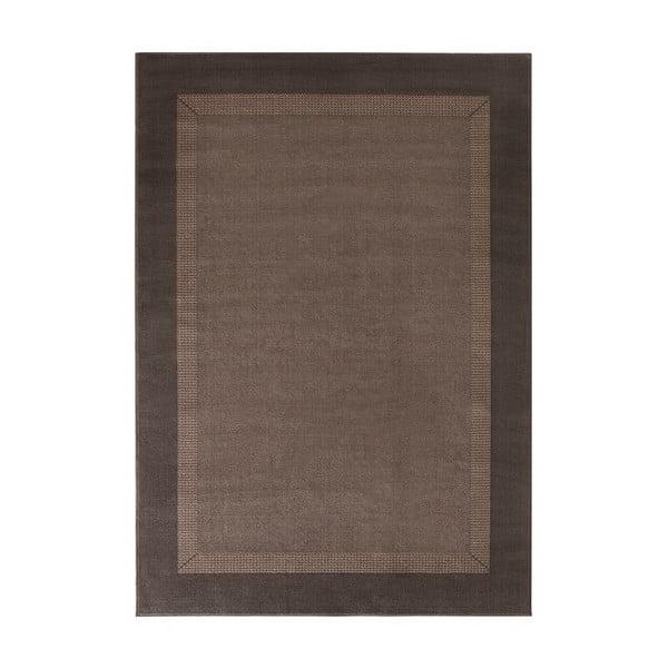 Koberec Basic, 120x170 cm, hnědý