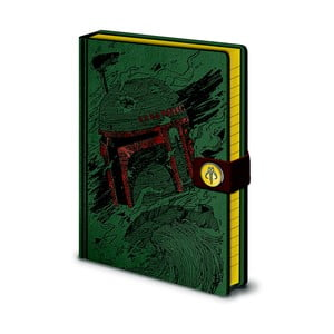 Zápisník A5 Pyramid International Star Wars: Boba Fett, 120 stran
