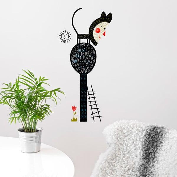 Samolepka Cat Tree, 58x65 cm