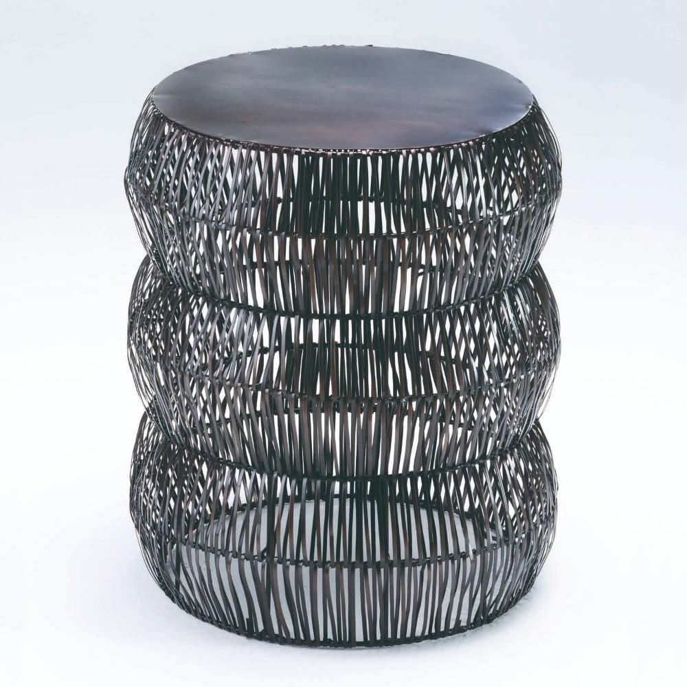 Šedá stolička Thain Nature, výška 50cm