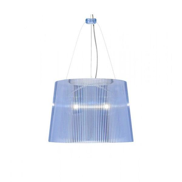 Stropní svítidlo Kartell GÉ Crystal, modré