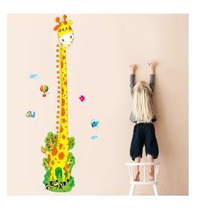 Samolepka na stěnu Žirafí krk, 60x90 cm