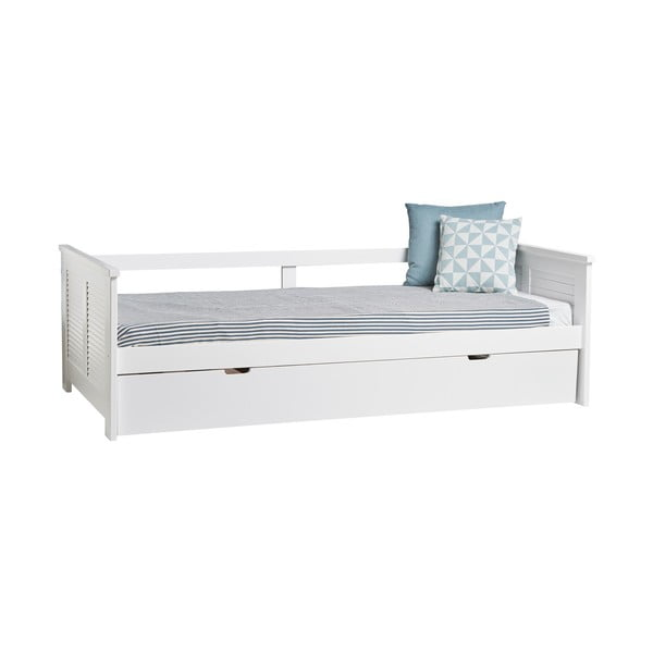 Maui fehér kihúzható ágy, 90 x 190 cm - Marckeric