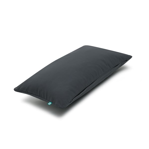 Čierna obliečka na vankúš Mumla Basic, 30 × 60 cm