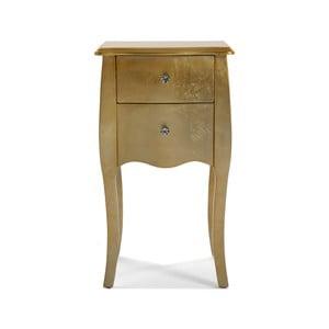 Noční stolek Versa Gold, 71 x 40 cm