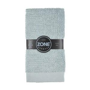 Šedo-zelený ručník Zone,100x50cm