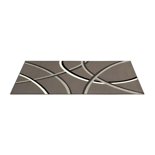 Šedý koberec Hamla Lines, 160x230 cm