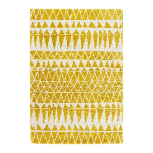 Covor Mint Rugs Allure Yellow, 80 x 150 cm, galben