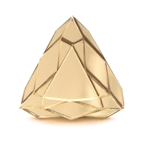 Prsten Baguera Vectory Trilliant Gold, 1.8 cm
