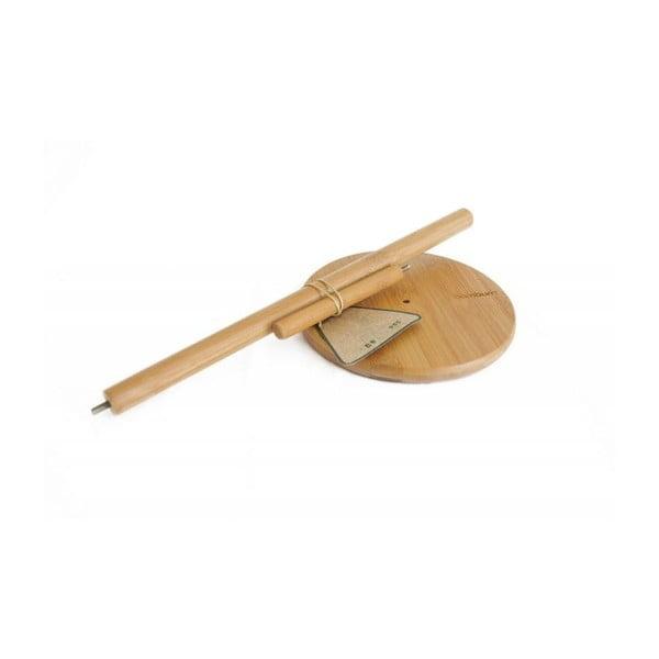 Suport din bambus pentru prosoape de bucătărie Bambum Cornetti