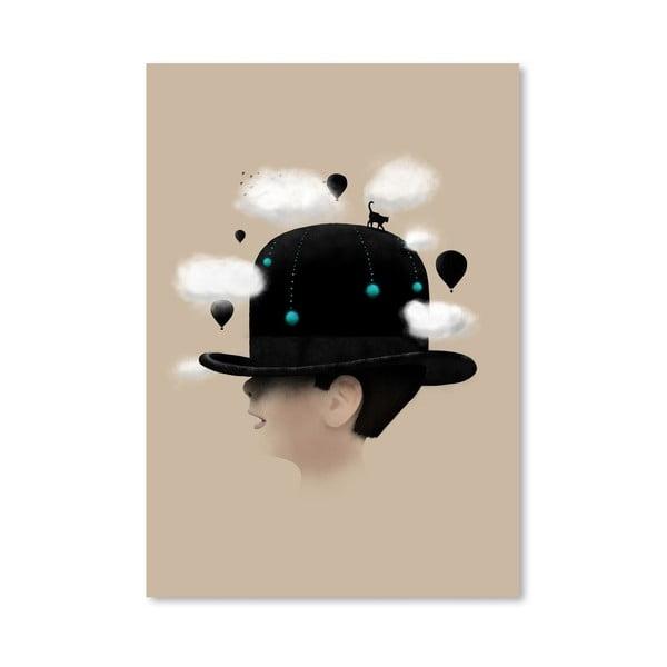 Plakát Dreaming od Florenta Bodart, 30x42 cm