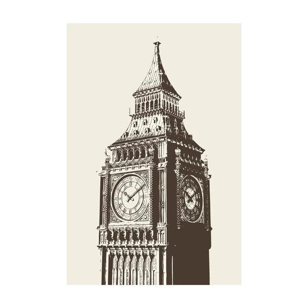 Obraz Big Ben, 40x60 cm
