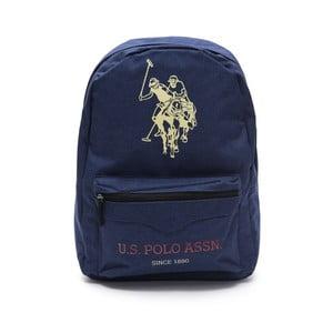 Tmavě modrý pánský batoh U.S. Polo Sport, 30 x 44 cm