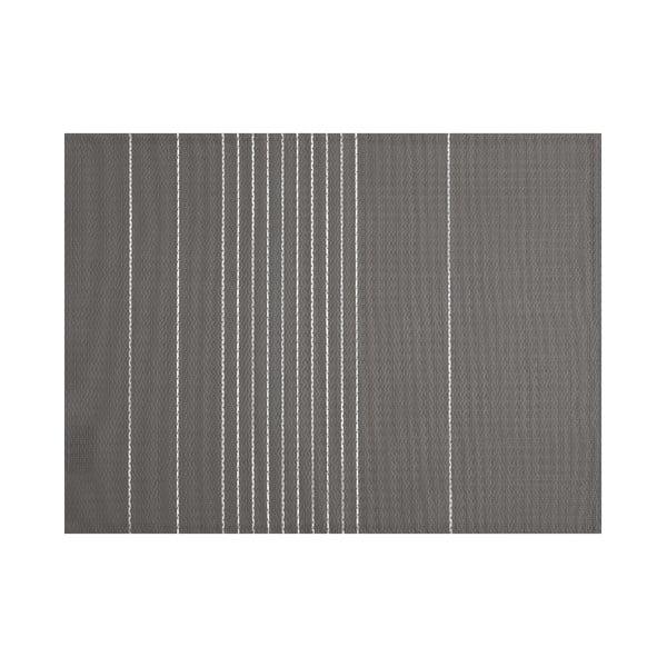 Šedé prostírání Tiseco Home Studio Stripe, 45 x 33 cm