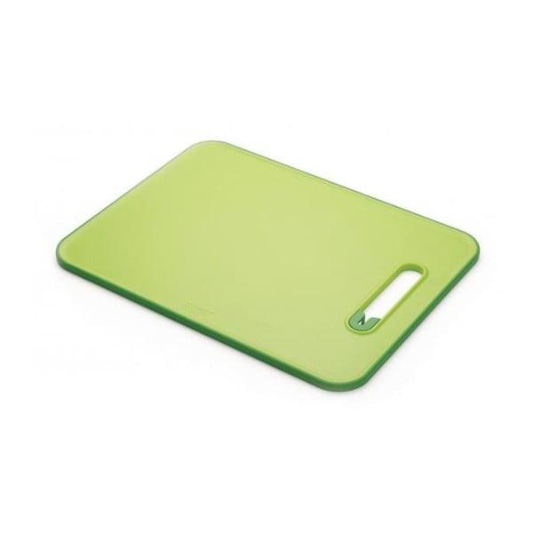 Prkénko s integrovaným brouskem Slice&Sharpen, malé, zelené