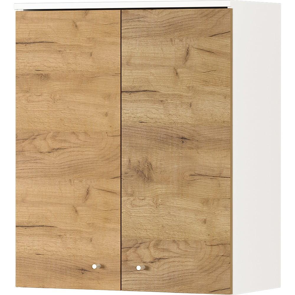 Nástěnná skřínka s dubovým dekorem Germania Dallas