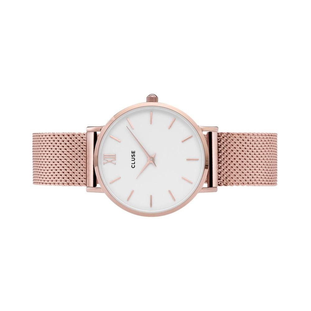 Dámské hodinky z nerezové oceli v barvě růžového zlata Cluse Minuit ... 569915e2c5