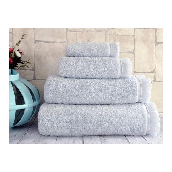 Šedý ručník Irya Home Superior, 30x50 cm