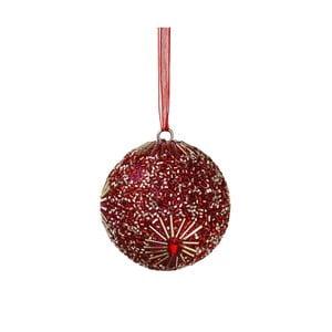Vánoční závěsná ozdoba s perlami Butlers Hang On, ⌀ 8 cm
