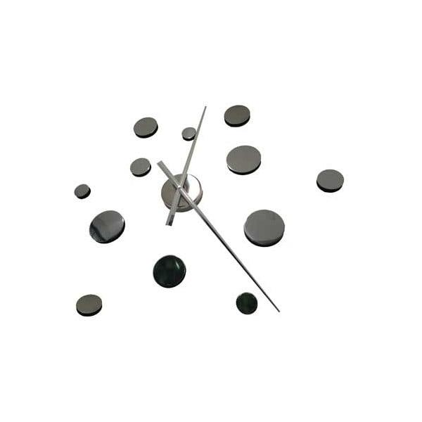 Nalepovací nástěnné hodiny Circles, 100 cm