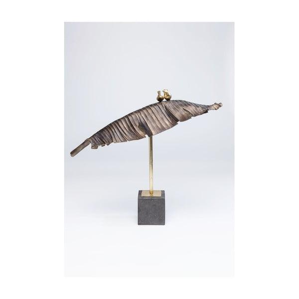 Dekoratívna soška Kare Design Birds Banana Leaf, výška 80 cm