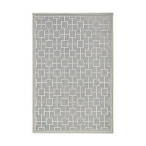 Šedý koberec vhodný i na ven bougari Botany, 160x230cm