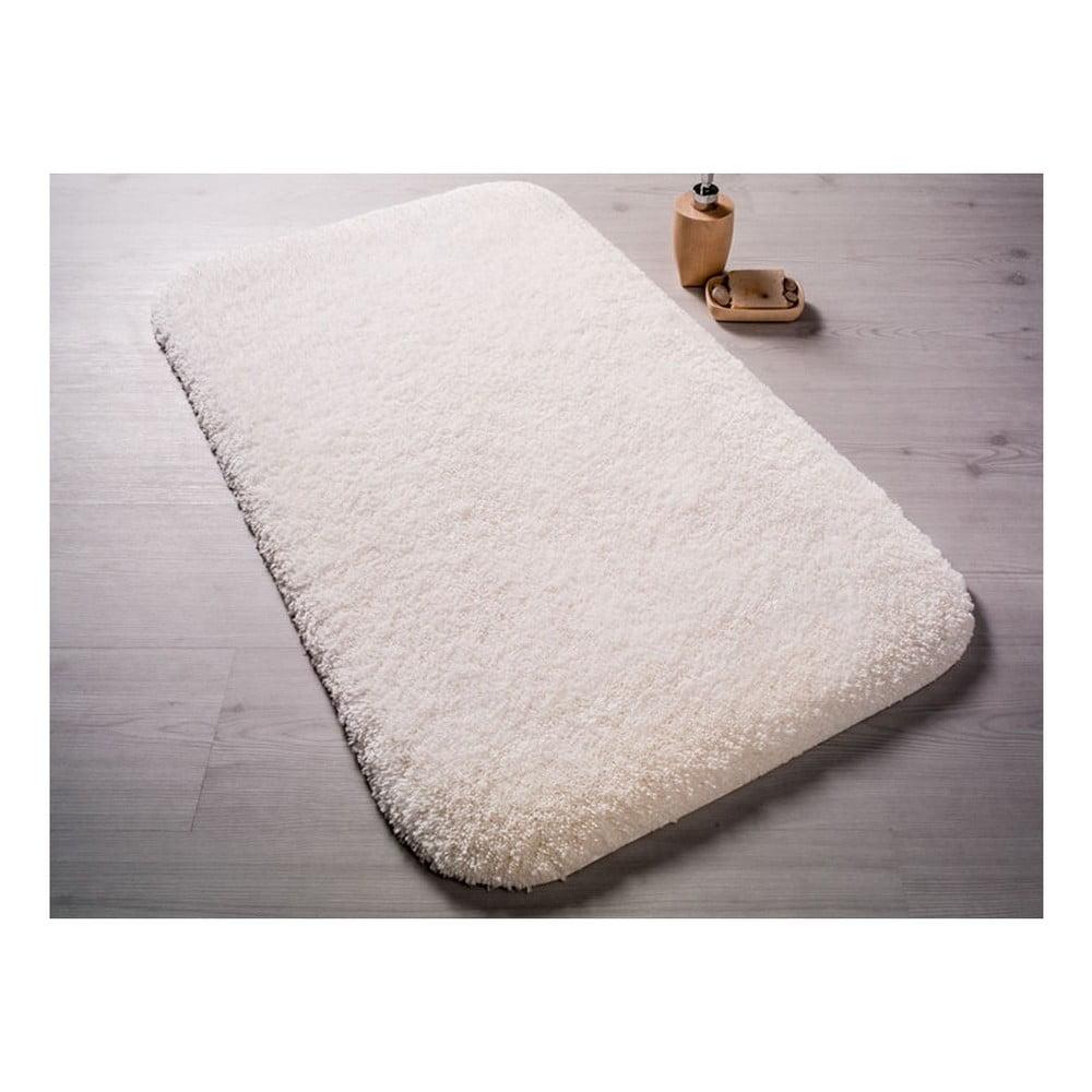 Bílá předložka do koupelny Confetti Bathmats Miami, 67x120cm