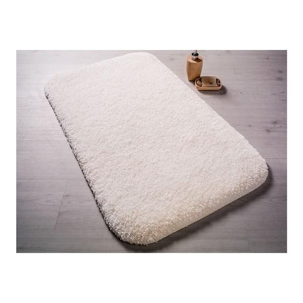 Biały dywanik łazienkowy Confetti Miami, 67x120cm