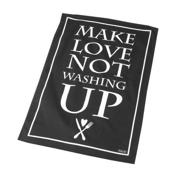 Utěrka Make Love Not Washing Up, 46x72 cm