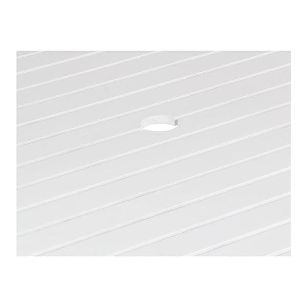 Stůl Wooden White, 70x80x80 cm