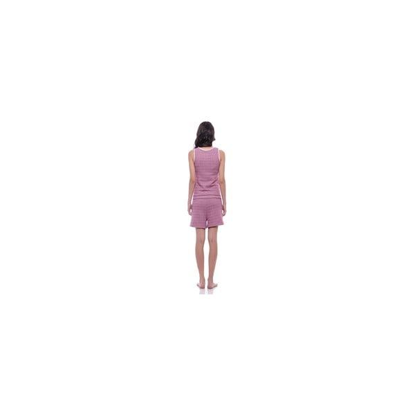 Krátký overal bez rukávů Summer Pink, vel. XS