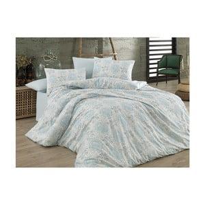 Lenjerie de pat cu cearșaf din bumbac Roma, 200 x 220 cm