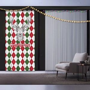 Vánoční závěs Animal, 140 x 260 cm