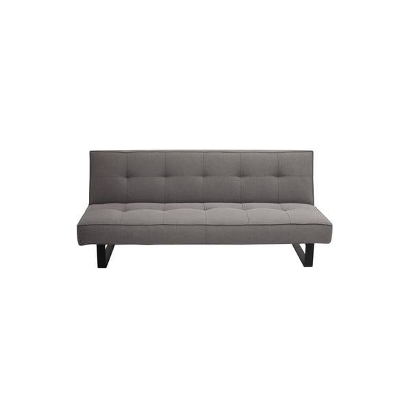 Sleek szürke kétszemélyes kinyitható kanapé - Custom Form