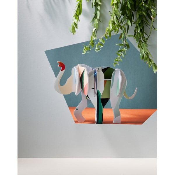 3D skládačka Totem Elephant