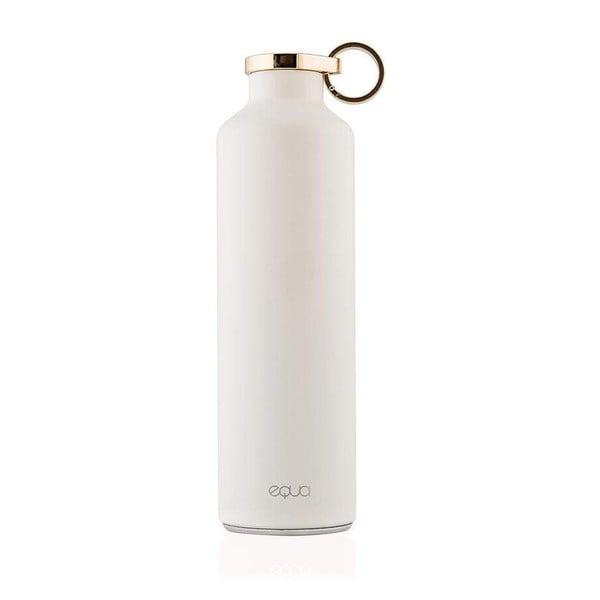 Biała butelka termiczna ze stali nierdzewnej Equa Basic Snow White,680ml