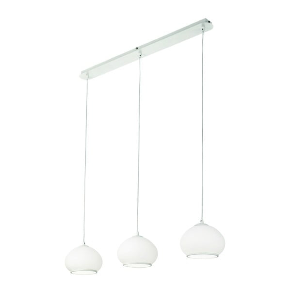 Bílé závěsné svítidlo Evergreen Lights Onika