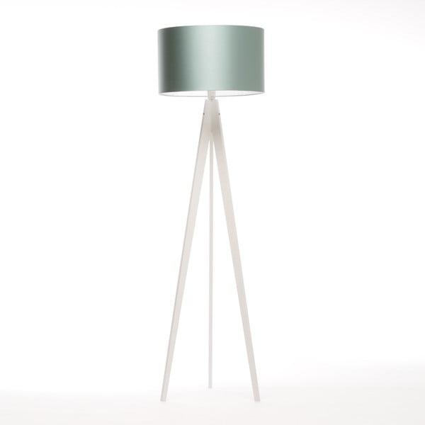 Stojací lampa Artist Light Green Blue/White Birch, 125x42 cm