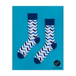 Ponožky Many Mornings Zig Zag Frosty, vel. 39/42