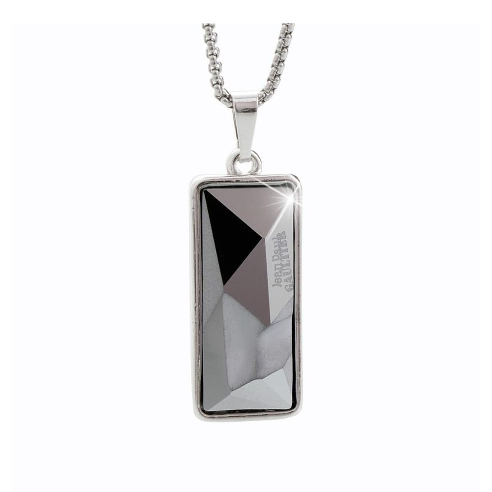 Náhrdelník s krystaly Swarovski® Yasmine Black Diamond