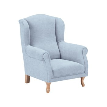 Fotoliu pentru copii KICOTI Comfort, albastru pastel imagine