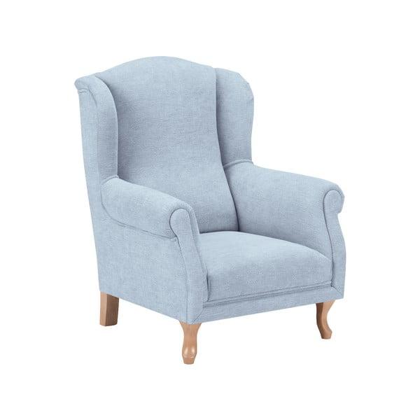 Fotoliu pentru copii KICOTI Comfort, albastru pastel