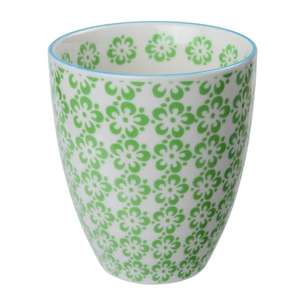 Porcelánový šálek Orient Green, 8,7x9,8 cm