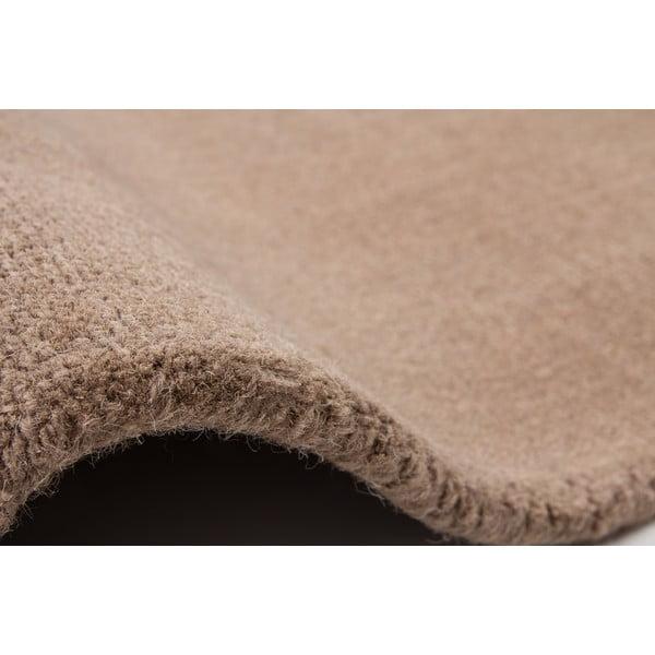 Vlněný koberec Tiffany 80x150 cm, béžový