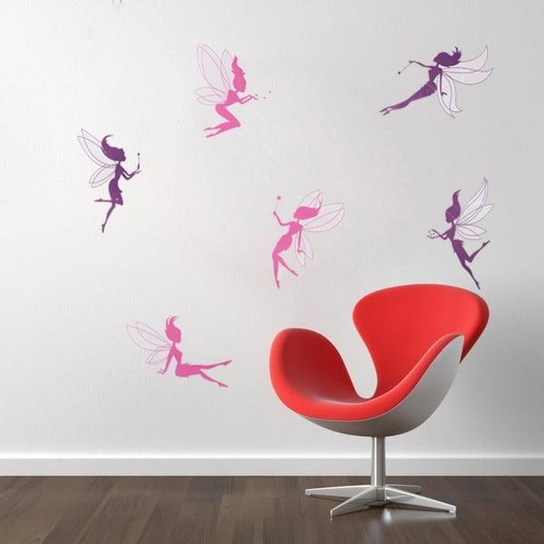 Sada 6 samolepek Fanastick Fairy