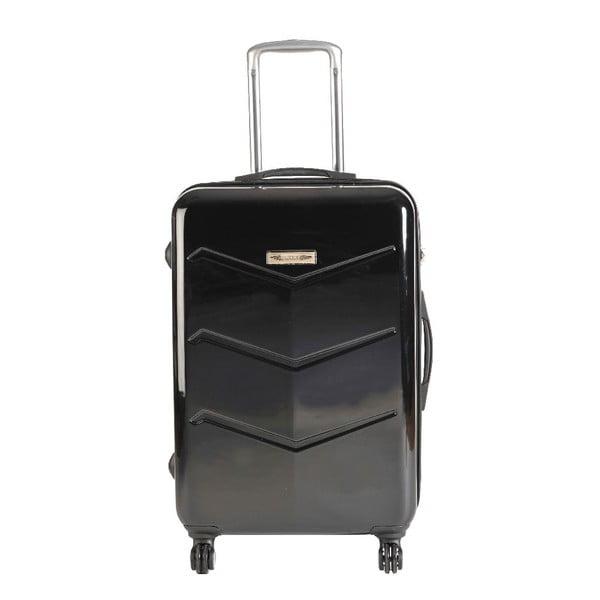 Set 3 cestovních kufrů Majestik Black