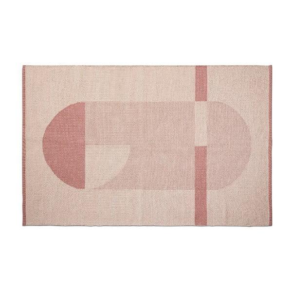 Růžový dětský koberec Flexa Room, 120 x 180 cm